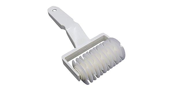 1pcs Doyime Teigroller Gitterwalze Gitterschneider Teigwalze Teigschneider Kunststoff L Gitter