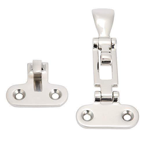 Alomejor 2 Stücke 316 Grade Edelstahl Boot Hardware Lock Cabinet Hatch Latch Mechanische Schnalle - Cabinet Latch Lock