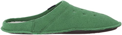 Crocs Classic Slipper, Ciabatte Unisex – Adulto Verde (Kelly Green/Oatmeal)