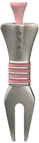 LEGEND Pitch Gift Pack, pink-Set Halterung für Golfschläger und Pitchgabel von, Unisex - Erwachsene, Pitch Gift Pack,Pink, Rosa