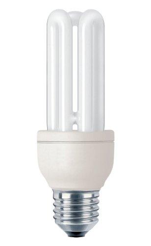 Philips G10Y14B1 Lampadina a Risparmio Energetico, 14W (Corrispondenti a 65W), Attacco Grande E27, Luce Bianca Calda