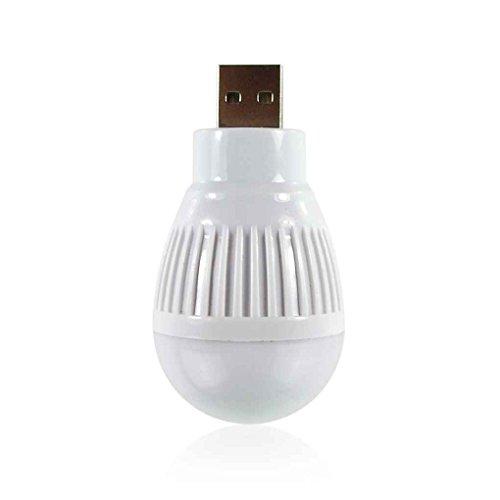 Lorjoy USB Globular Linterna Redonda Base Lámpara