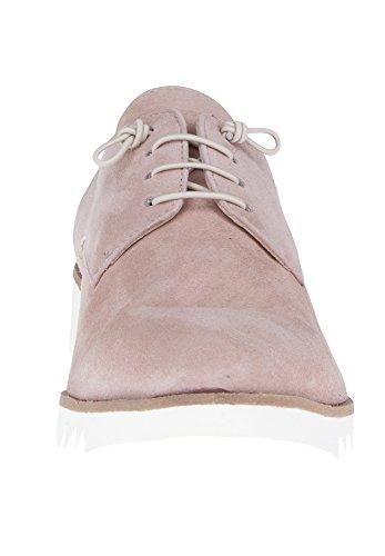 Donna Carolina , Chaussures de ville à lacets pour femme couleur chair