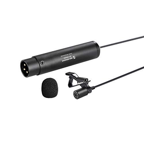 BOYA BY-M4OD Microfono Lavalier a Condensatore Omnidirezionale per Canon Nikon Sony Panasonic Videocamere ZOOM H4n H5 H6 TASCAM Audio Registratore