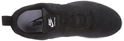 Nike Air Max Tavas Leather, Baskets Basses homme Noir - (Black/White 001)