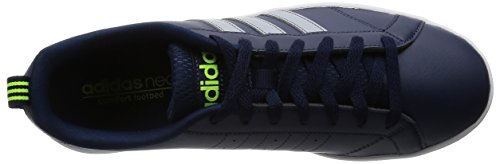 Adidas neo - Advantage Clean VS, Scarpe da ginnastica Uomo Blau (Collegiate Navy/Clear Onix/Solar Yellow)