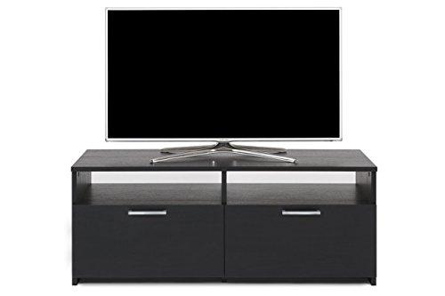 Mobilifiver Rachele Mobile Porta TV, Legno, Frassino Nero, 112x42x45 cm