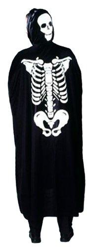 Cesar - Disfraz de esqueleto para niños (de 5/10 años)
