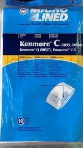 18Staubsaugerbeutel für Sears Kenmore 50555055750558Panasonic C C5C F - Sears Kenmore