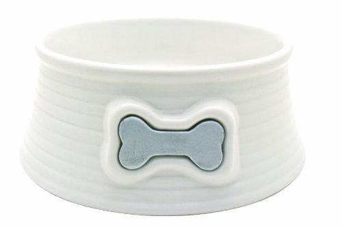 hundeinfo24.de DOGIT Keramik Napf, weiss 200 ml