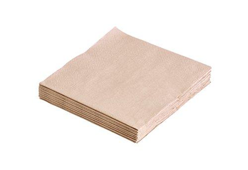 Lind DNA 989858 Papier-Servietten sand 33x33cm (20Stück)