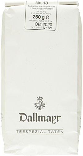 Dallmayr Schwarztee – Nr. 13 Darjeeling 1. Pflückung, 1er Pack (1 x 250 g)
