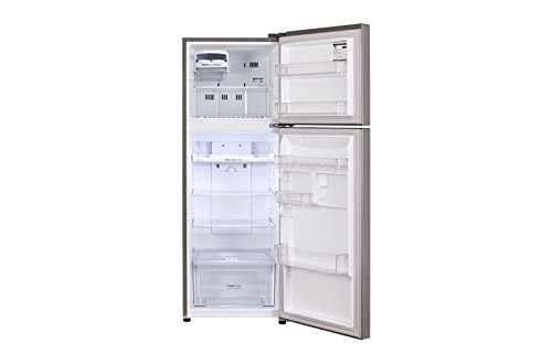 LG 260 L 2 Star Frost Free Double Door Refrigerator(GL-Q292SDSR.BDSZEBN, Dazzle Steel, Inverter Compressor)