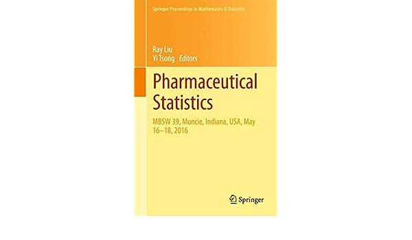 Buy Pharmaceutical Statistics: MBSW 39, Muncie, Indiana, USA