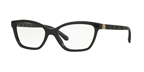 Burberry - EXPLODED CHECK BE 2221, Schmetterling, Acetat, Damenbrillen, BLACK(3001 A), 53/17/140