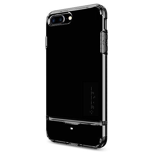 Spigen iPhone 7 Plus Case Flip Armor 5.5 Cover Oro rosa FA_Jet Black