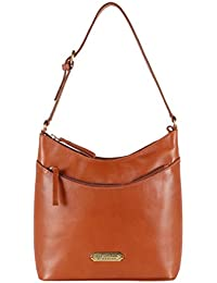 Isle Locada By Hidesign Women's Shoulder Bag (Tan)