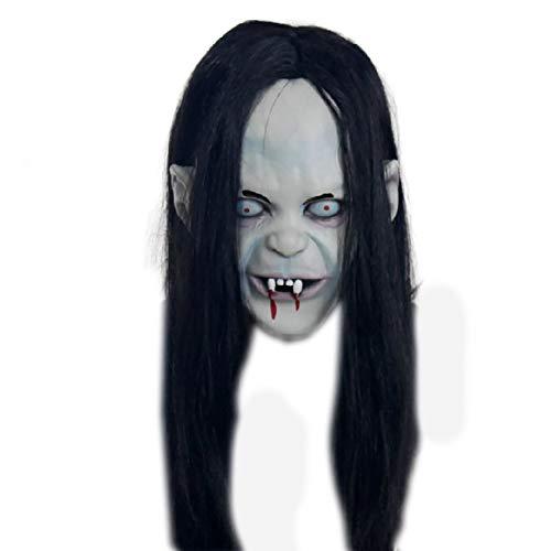 (Halloween Party Set Halloween Simulation weibliche Geistermaske 1 Packung für Festival Cosplay Halloween Kostüm)
