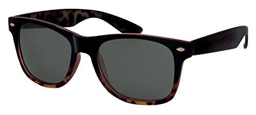 Foster Grant Mystery Man Tort Black Sunglasses