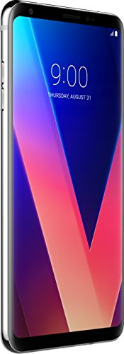 LG V30 Smartphone (15,24 cm (6 Zoll) Display, 64 GB Speicher, Android 7.1) Cloud Silver