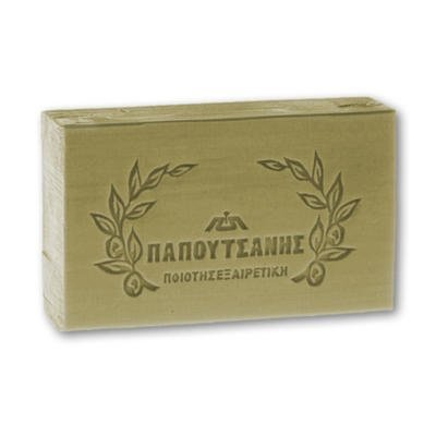 Papoutsanis Olivia Natural Bar Soap with olive oil 125g (Soap Bar Olive)