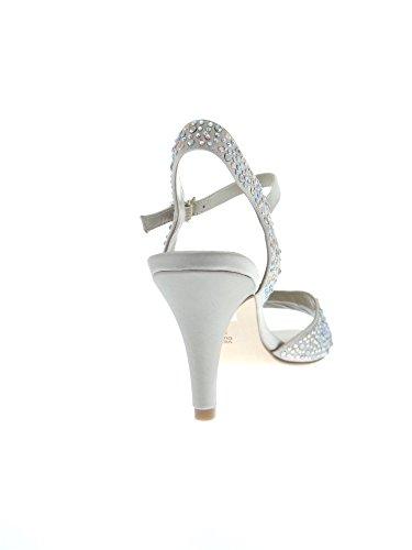Luciano Barachini , Damen Sandalen Champagne