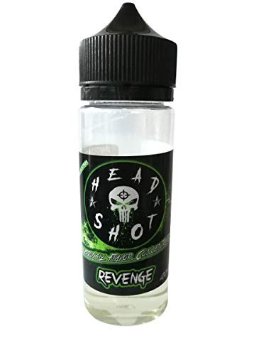 Headshot - Aroma Revenge - ca. 20ml - Bottlefill 120ml E-Liquid - Shake and Vape - Erdbeer Kiwi Eistee