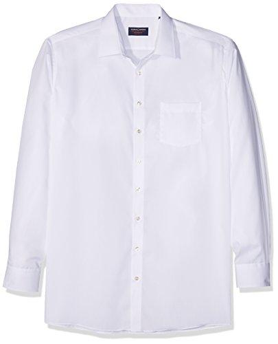 Casamoda Camicia Business Uomo Bianco (Weiß 0)