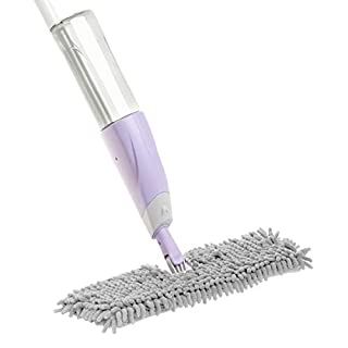 Aqua Jet Duo Mop - Dual-sided microfibre mop with built-in spray bottle