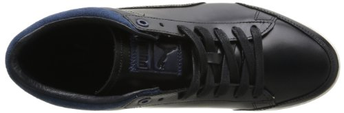 Puma Tarrytown, Herren Sneakers Schwarz (black/blue/white Swan)
