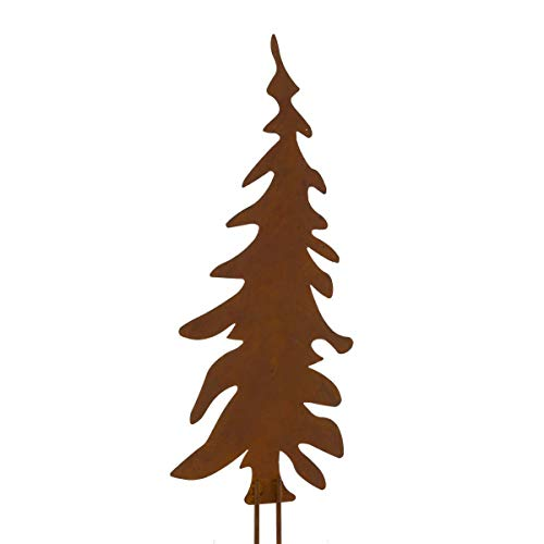Weihnachtsdeko – Gartenstecker Set Tannenbaum – 3 Stück - 4