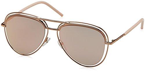 Marc Jacobs Unisex-Erwachsene MARC 7/S 0J 26J 54 Sonnenbrille, Redgold Pink/Grey Rosegd Sp,