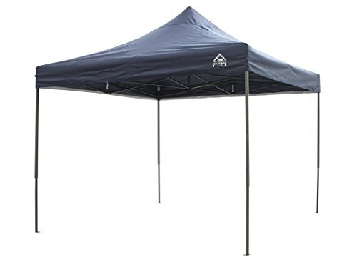 ROJGU All Seasons Gazebos, elección de Colores 3 X 3 m (10 pies x 10 pies) Heavy Duty, Impermeable, Revestido de PVC Premium instantánea Pop Up Gazebo