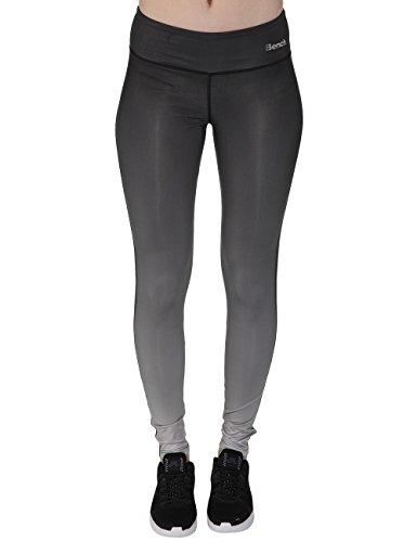 Bench Damen Leggings Baddah F, Jet Black, L, BLNF0037F
