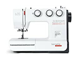 Bernette b35 - 60 Stitch functions - 23 Stitch mechanical automatic sewing machine : Swiss Design