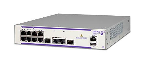 Alcatel-Lucent os6350-p10Switch, 10Anschlüsse Kupfer PoE + und Faser -