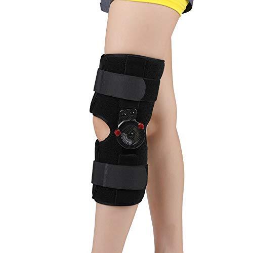 Roboraty Knie Orthesen, KniestüTze OrthopäDisch, Kniebandage ACL, Sehne, Schmerzlinderung, Band- und Meniskusverletzungen, vorbeugende Hyperextension,S