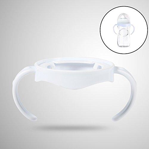 WYANG 5St Babyflaschengriff Fütterung Pflege Easy Grip Standard-Kunststoffhalter für Avent Natural-Serie