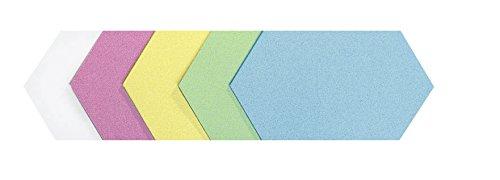 Legamaster 7–256699moderación tarjeta König Panal 295x 165mm, 100unidades), varios colores