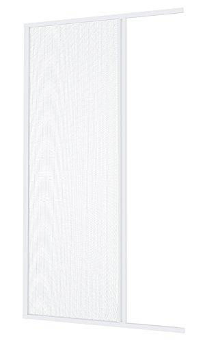 Windhager 03894 Insektenschutz Aluminium-Rollo Fliegengitter für Türen, Balkontüren, individuell kürzbar; 160 x 225 cm, weiß,