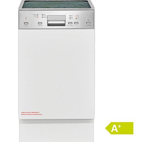 Bomann GSPE 881 teilintegrierbarer Einbau-Geschirrspüler, Energieklasse A+, Edelstahl, 45 cm, 9 Maßgedecke
