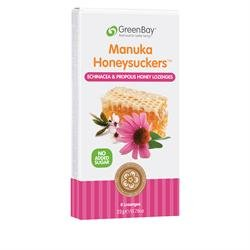 Echinacea & Propolis Manuka Honey Lozenges (8 Lozenges) from GreenBay Harvest