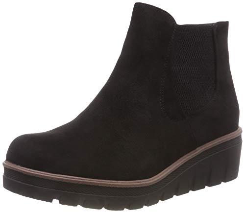 Rieker Damen 99182 Chelsea Boots, Schwarz (Black 00), 42 EU