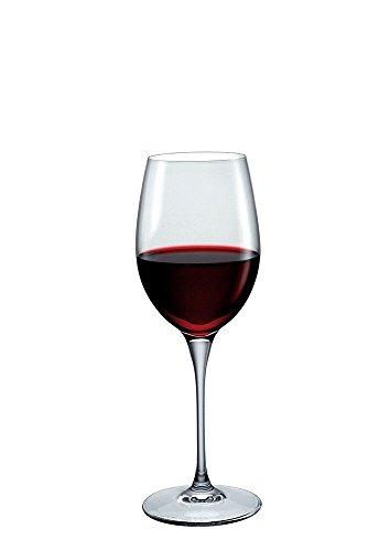 Kelch Glas 38cl Weinglas Chianti Bormioli Premium II, Set 6Stück Made in Italy