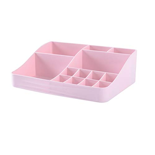 Ace hzsnh Mehrfarbige Kosmetik Aufbewahrungsbox Desktop Kunststoff Schmuck Lippenstift Nagelöl Schmutz Aufbewahrungsbox Rack (Color : A)