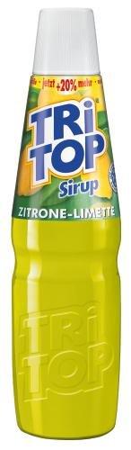 Tri Top Zitrone- Limette, 6er Pack (6 x 600 ml Flasche)
