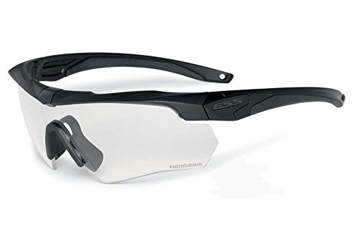 64c8a00a23 ESS Sunglasses Crossbow Surpressor ONE Black with Clear Lens EE9007-04