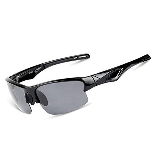Retro Vintage Sonnenbrille, für Frauen und Männer Simple Style Unisex Sport Sonnenbrille Männer Frauen Polarisierte TAC Objektiv for Baseball Radfahren Laufen Angeln Golf Klettern (Farbe : A001)