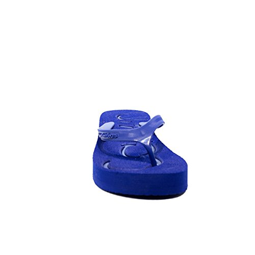 Calvin Klein Jeans Damen Tamber Jelly Zehentrenner Cobalt