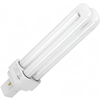Lighted - Bombilla para downlight pl 2 pin 26w g24d-3 luz blanca día 6400k